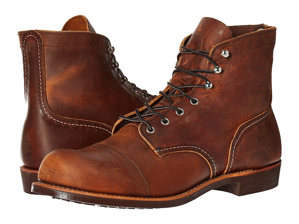 Red Wing Heritage - 6 Iron Ranger Lug (Copper Rough Tough...
