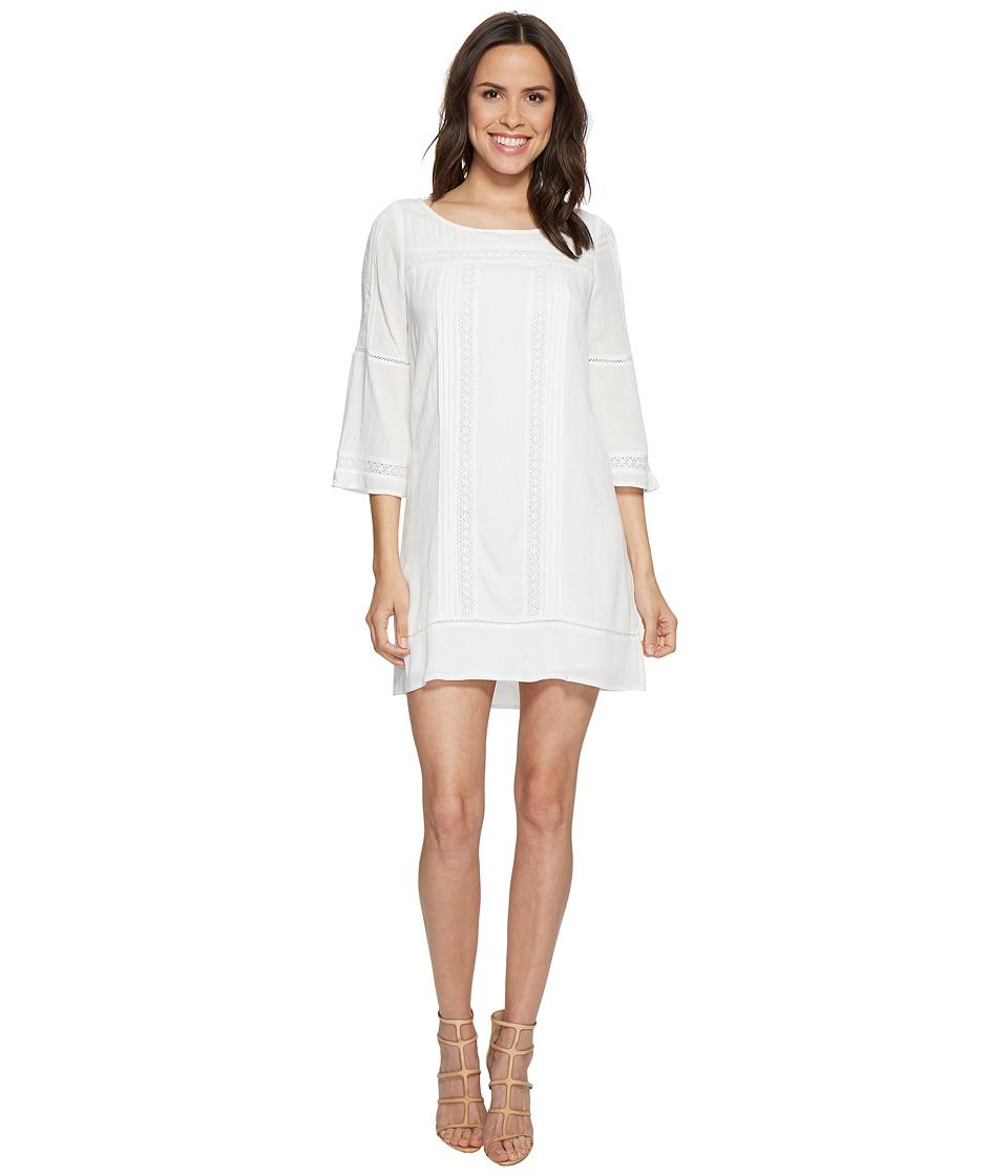 Sanctuary Clemence Dress (White/Ecru) Women