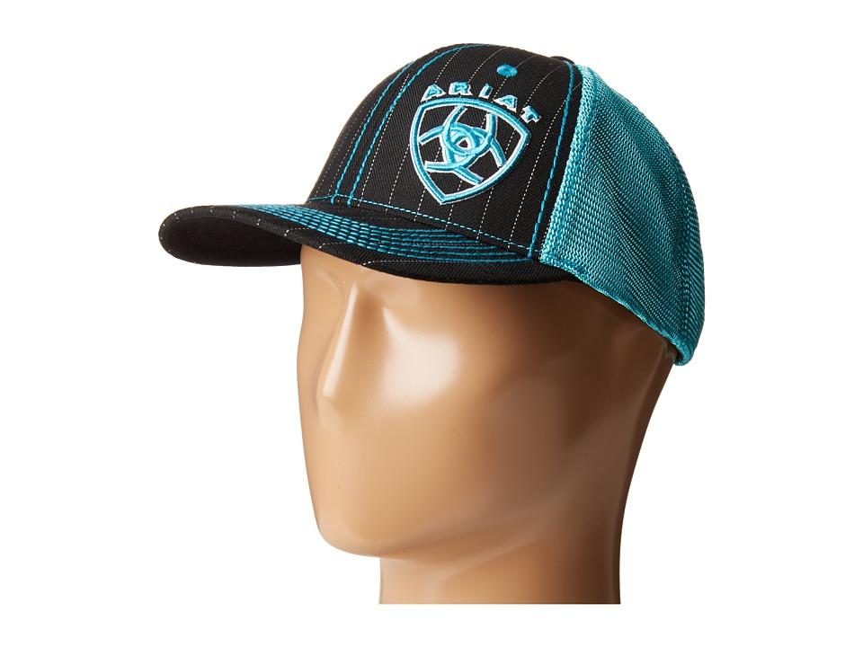 Image of Ariat - 1507701 (Black/Turquoise) Caps