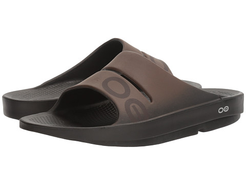 OOFOS OOahh Sport Sandal - Black/Brown