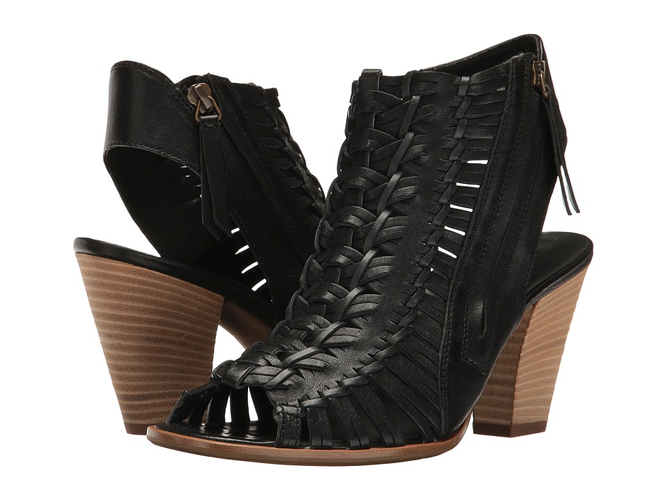 Paul Green Miranda (Black Leather) Women