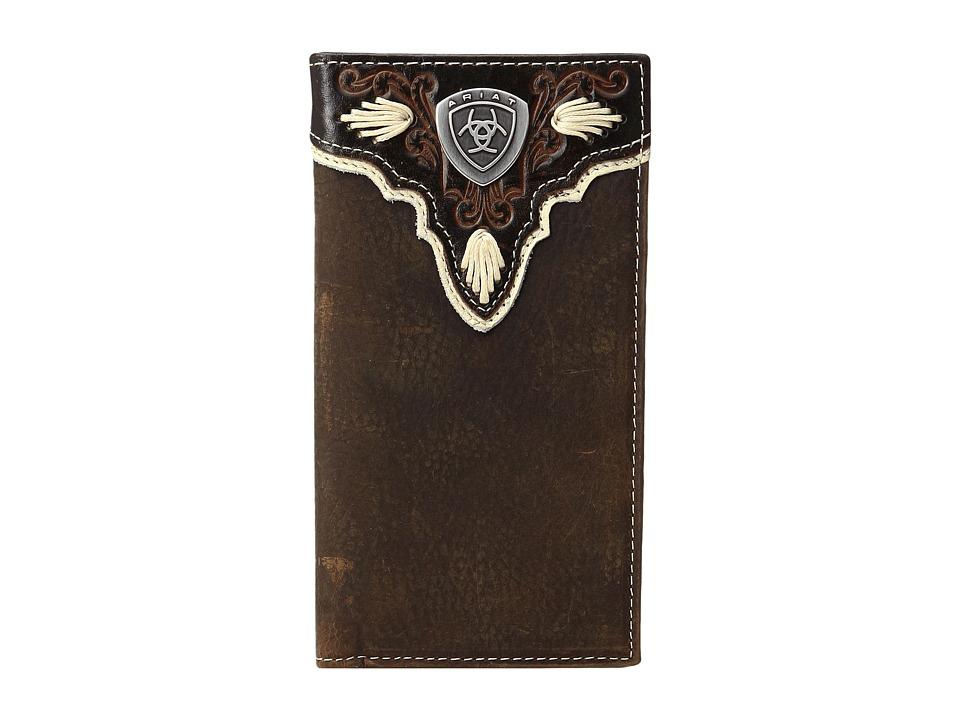Ariat - Shield Ivory Rodeo Wallet