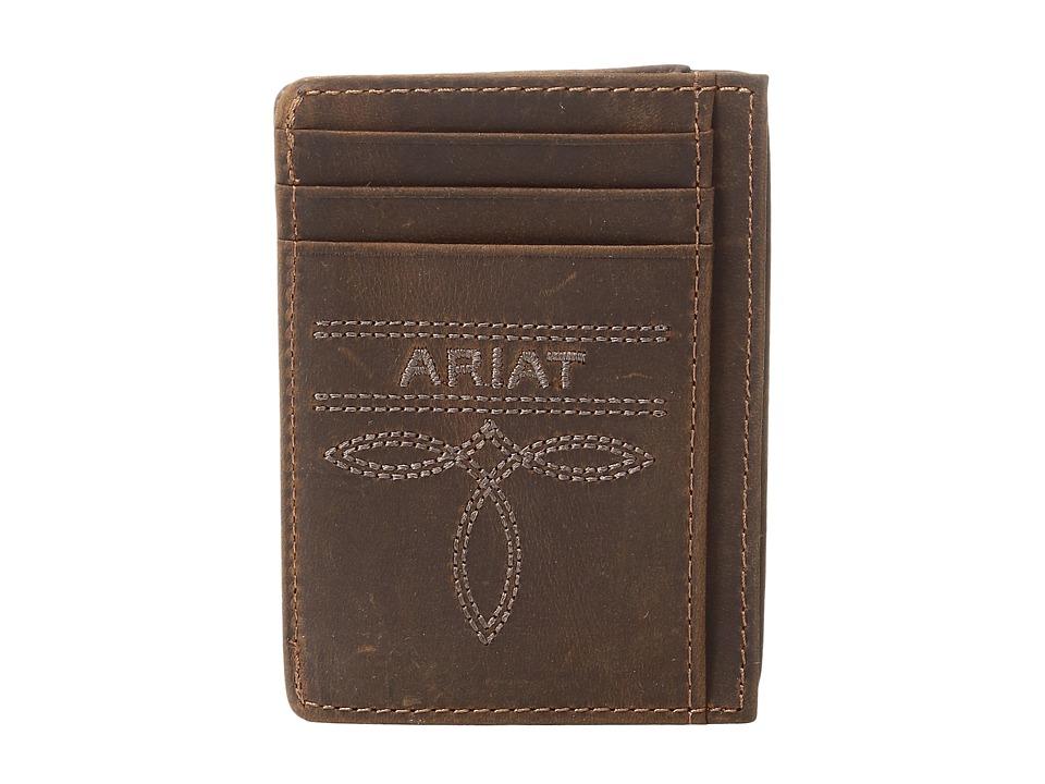 Ariat - Fancy Scroll Toe Bug Card Case