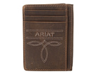 Ariat Fancy Scroll Toe Bug Card Case