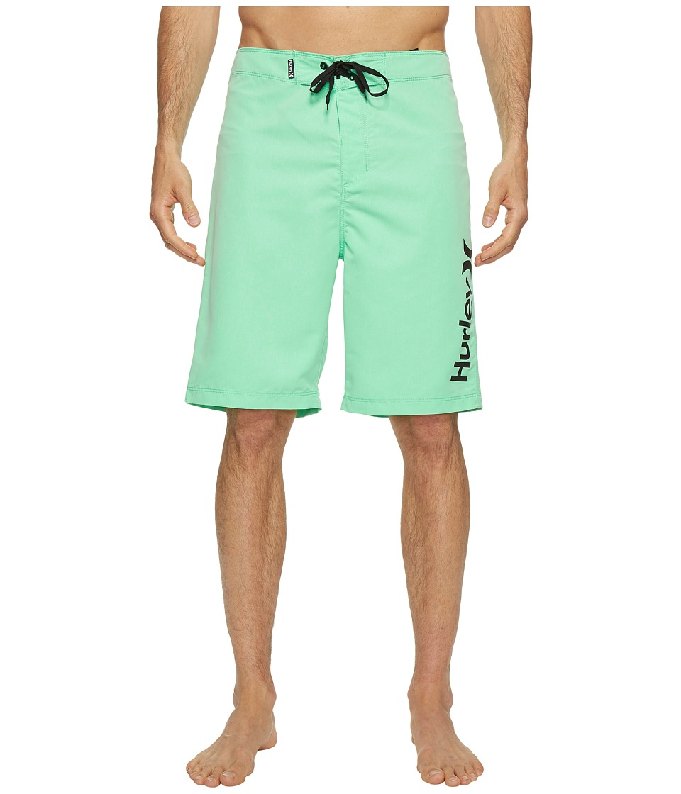 Hurley One Only Heather 2.0 Boardshorts 21 (Electro Green) Men