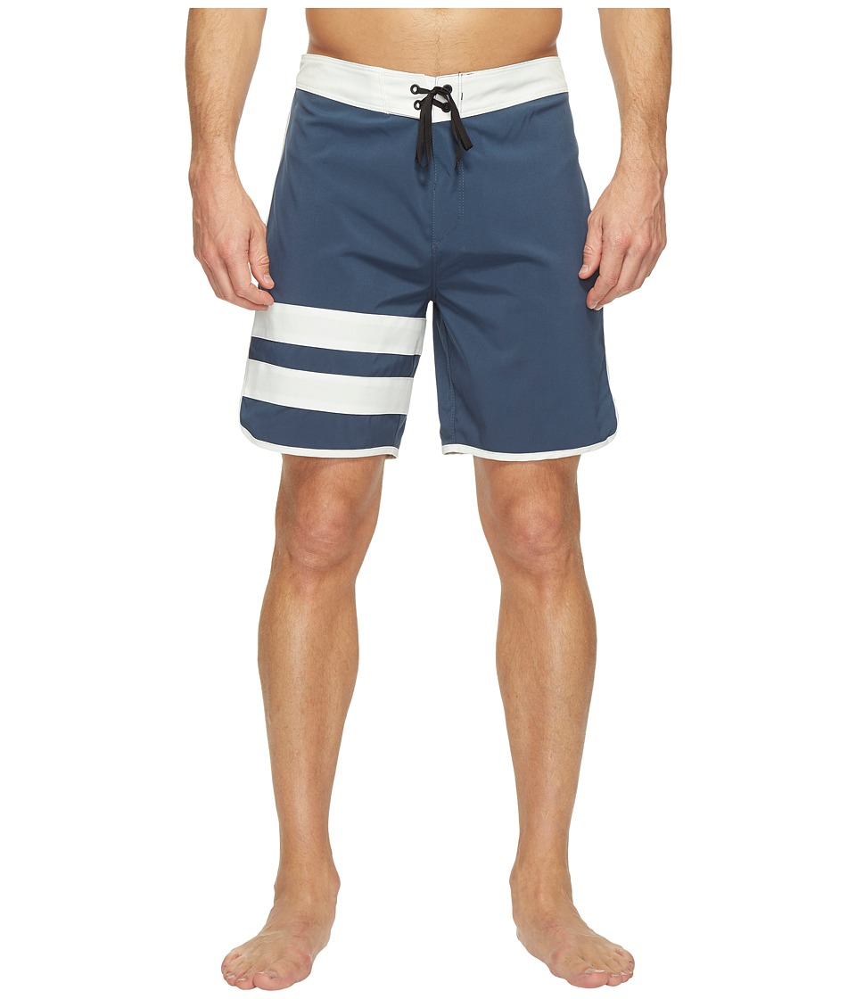 Hurley Phantom Block Party 2.0 18 Boardshorts (Squadron Blue) Men