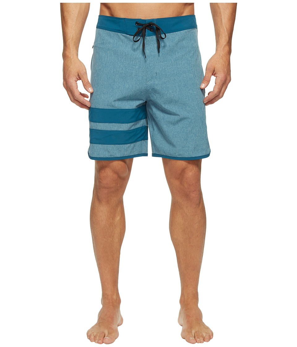 Hurley Phanton Block Party Heather 2.0 (Legion Blue) Men