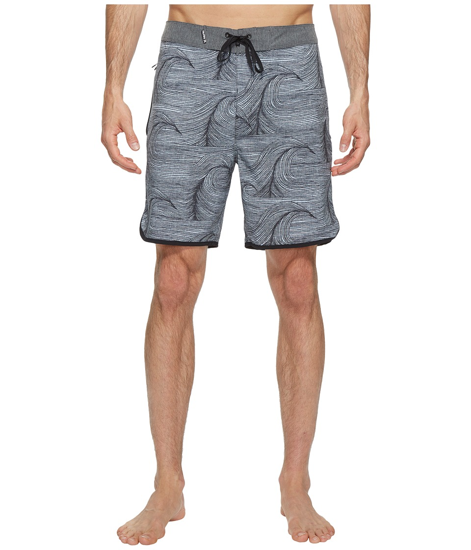 Hurley Phantom Brooks 18 Boardshorts (Anthracite) Men