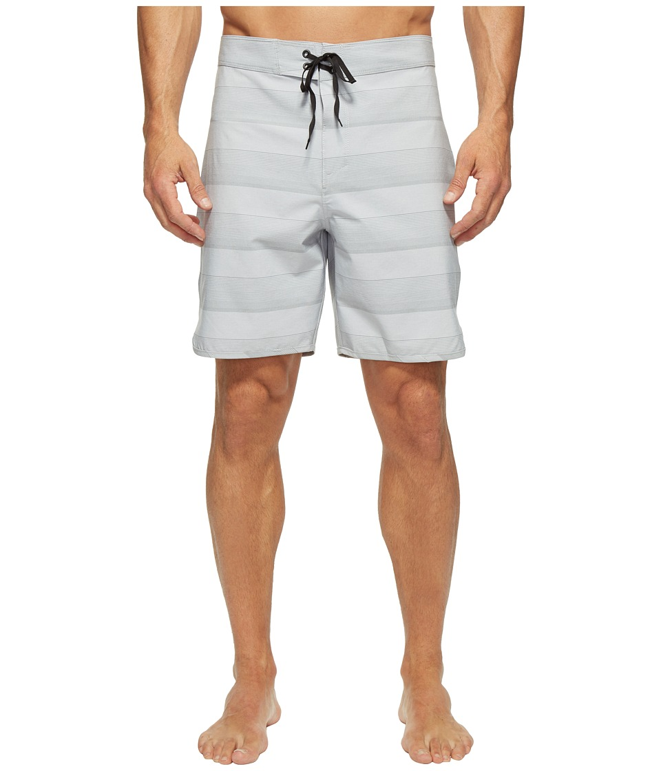 Hurley Phantom Strike 19 Boardshorts (Wolf Grey) Men