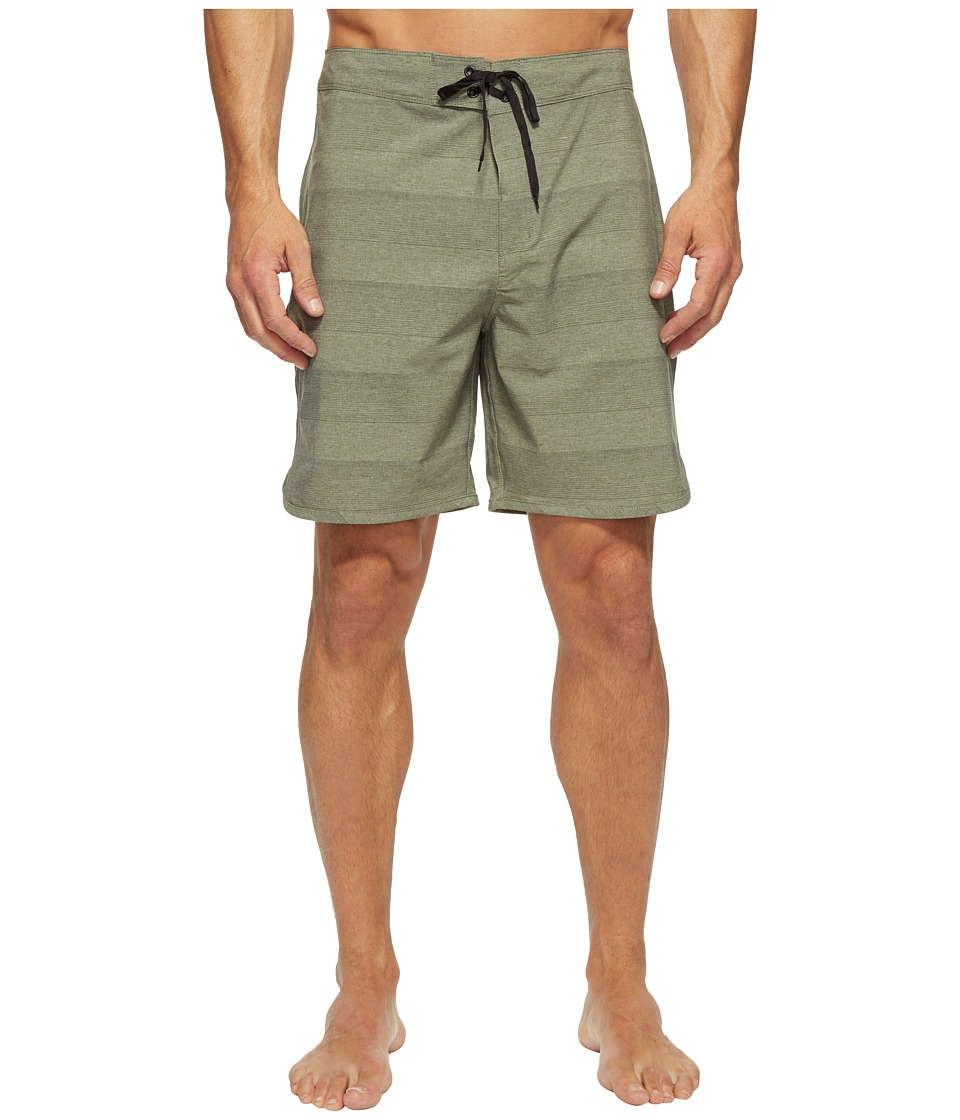 Hurley Phantom Strike 19 Boardshorts (Cargo Khaki) Men