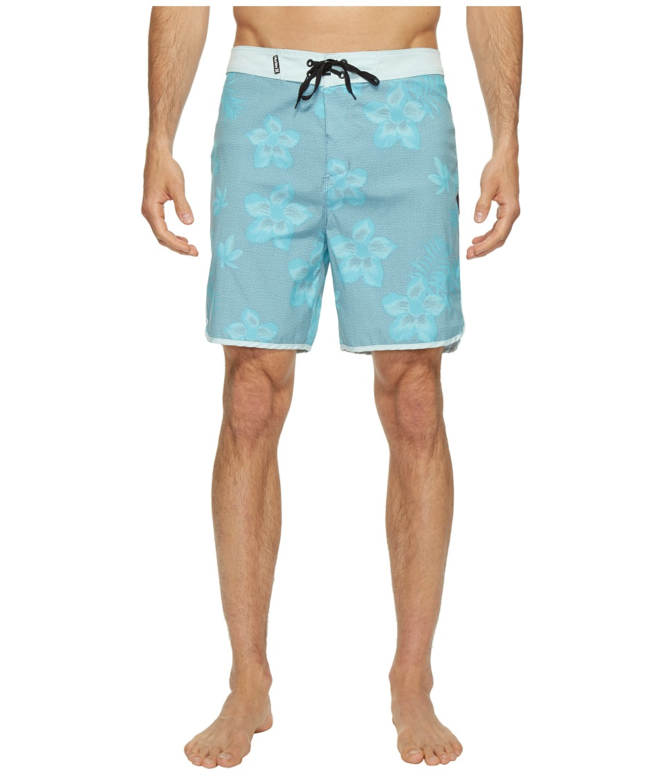 Hurley Ray 19 Boardshorts (Mica Blue) Men