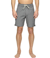 VISSLA - Boardertown Four-Way Stretch Heathered Boardshorts 18.5