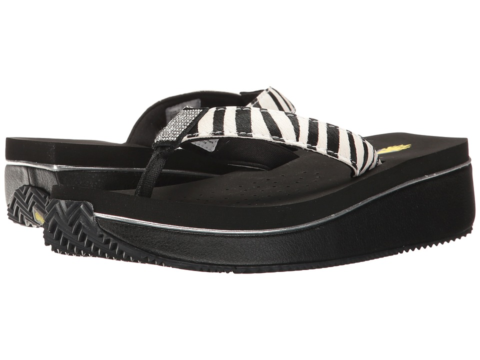 VOLATILE Devri (Black/White/Zebra) Women