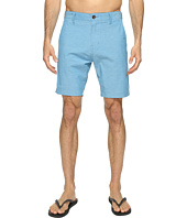 VISSLA - Four Doors Four-Way Stretch Heathered Hybrid Walkshorts 19