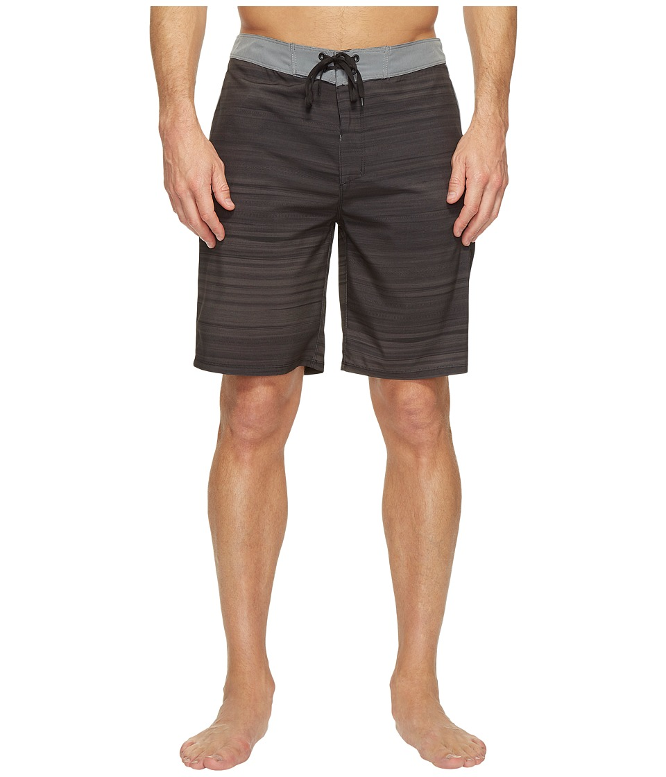Hurley Phantom Beachside Slider 20 Boardshorts (Black) Men
