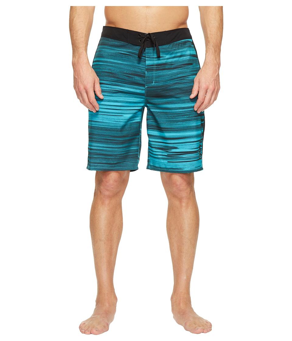 Hurley Phantom Beachside Slider 20 Boardshorts (Cholorine Blue) Men