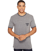 VISSLA - Established Ringer Tri-Blend Tee