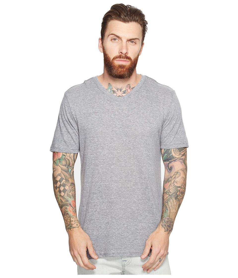 Hurley Staple Tri-Blend V-Neck Tee (Cool Grey) Men