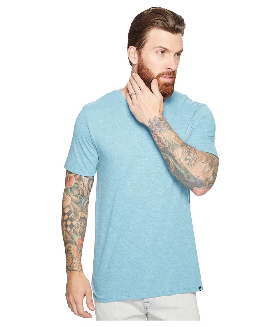 Hurley Staple Tri-Blend V-Neck Tee (Chlorine Blue) Men