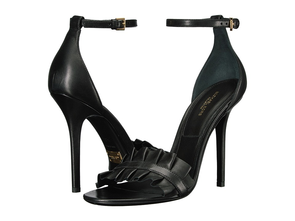 Michael Kors Priscilla (Black Nappa) High Heels