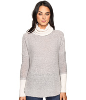 Three Dots - Faux Double Sweater