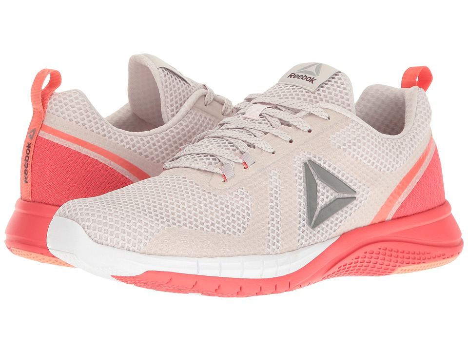 Reebok - Print Runner 2.0 (Lilac Ash/Whisper Grey/Fire Coral/Stellar Pink) Womens Running Shoes