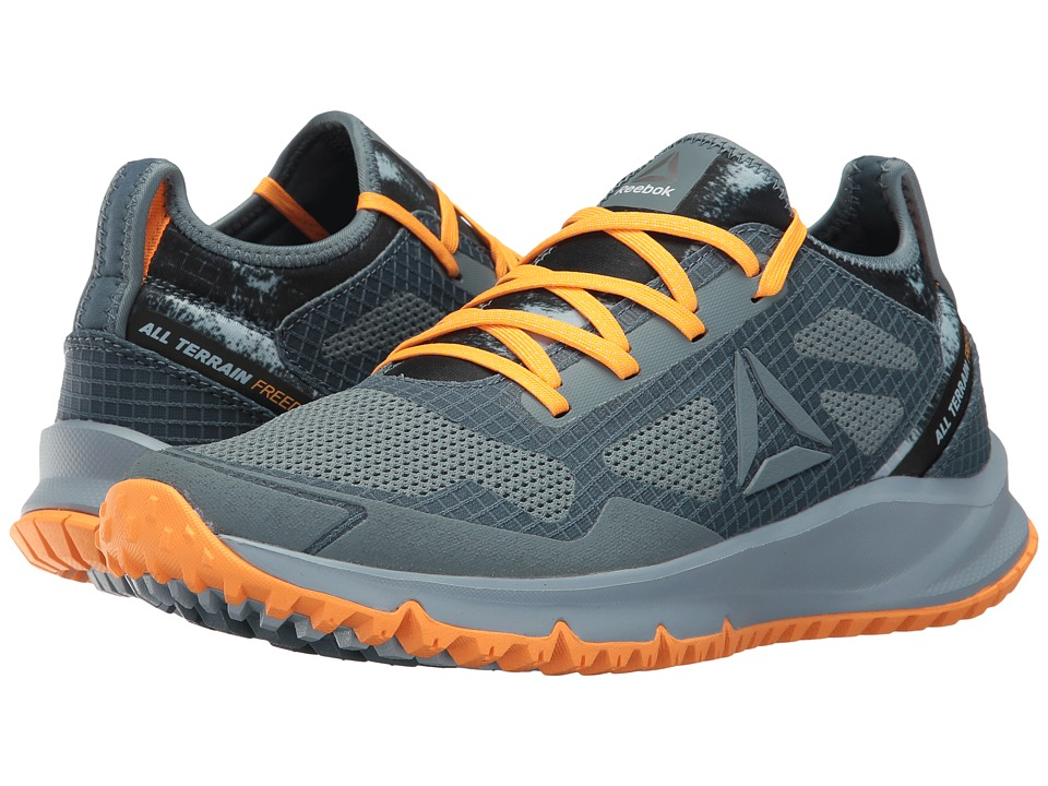 Reebok All Terrain Freedom (Stonewash/Gable Grey/Fire Spark/Silver Metallic) Women