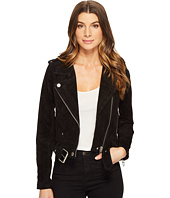 Blank NYC - Black Suede Moto Jacket in Seal The Deal