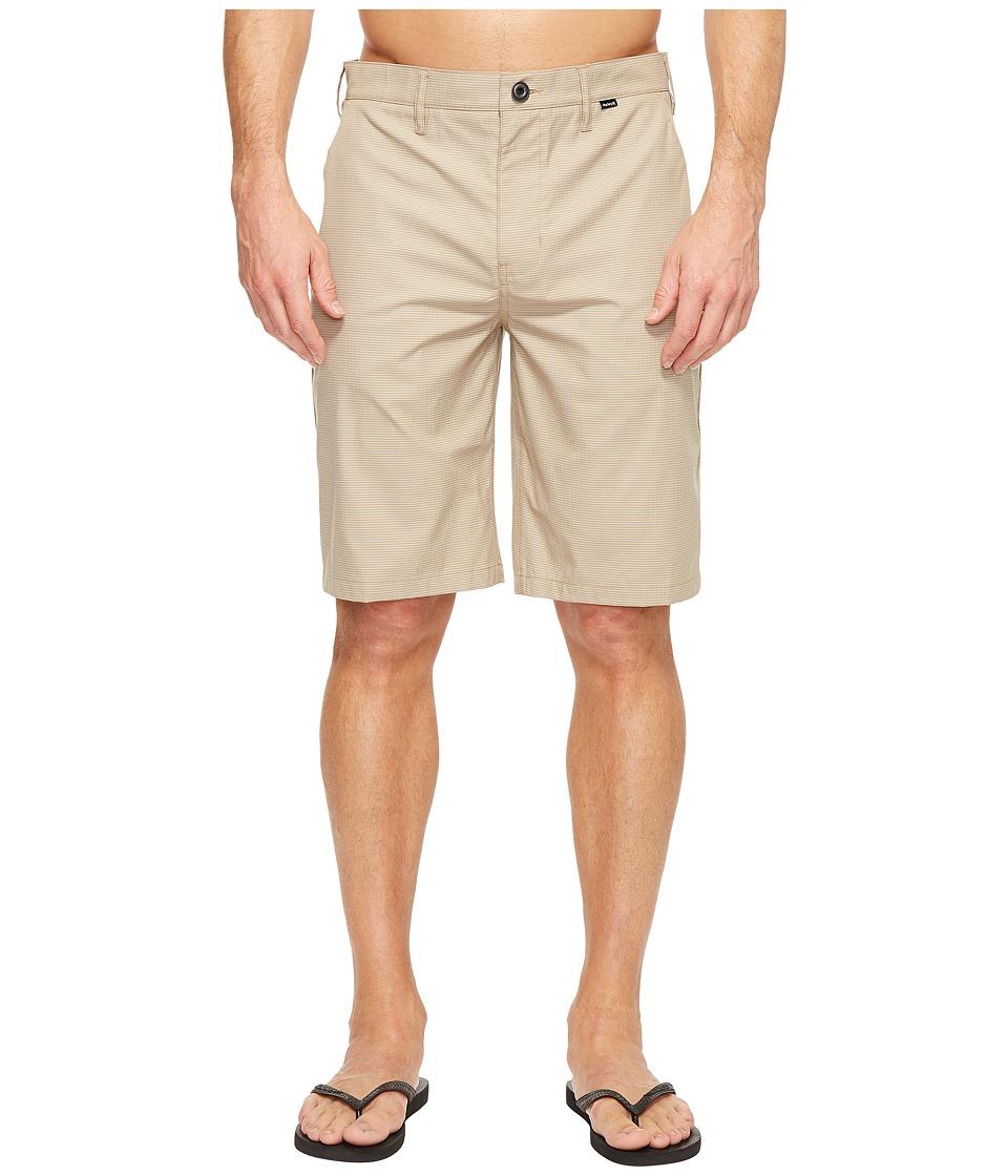 Hurley Dri-Fit Harrison Walkshorts (Khaki) Men