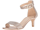 Pelle Moda - Bette (Platinum Gold Metallic Kid Suede)