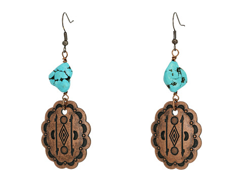 Kender West E-298 - Copper/Turquoise