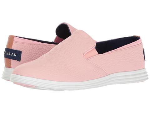 Cole Haan Ella Grand 2 Gore Slip-On - Seashell Pink/Optic White