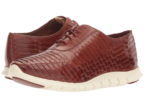 Cole Haan Zerogrand Huarache Oxford - Brown Leather