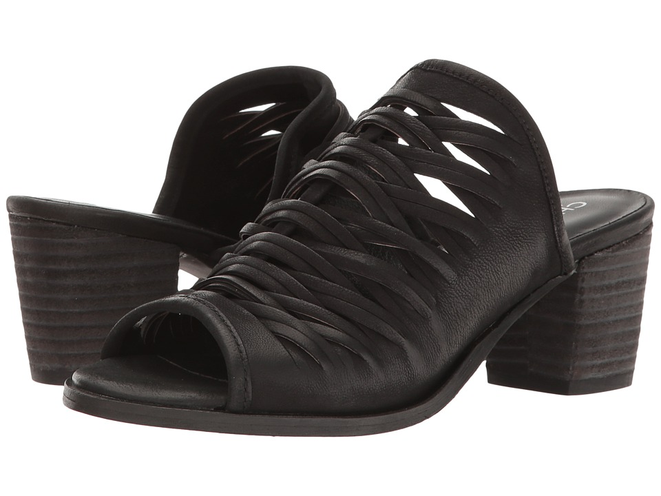 Charles by Charles David Chris (Black Leather) High Heels
