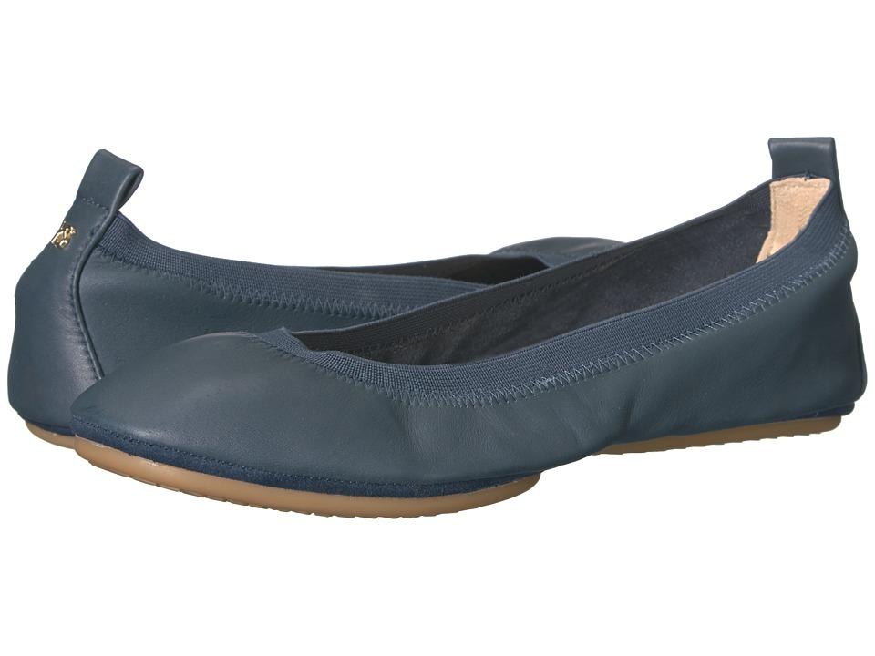 Yosi Samra Samara (Deep Navy Leather) Flats