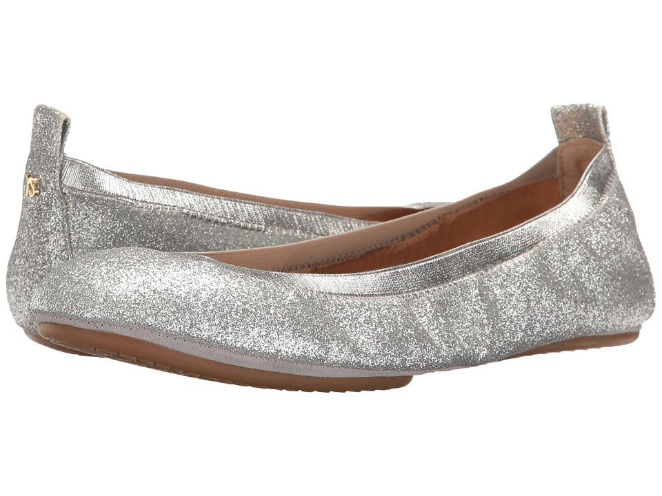 Yosi Samra Samara (Silver) Flats