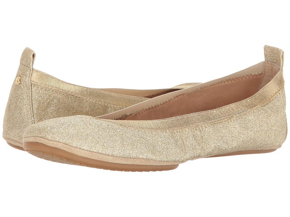 Yosi Samra Samara (Gold) Flats