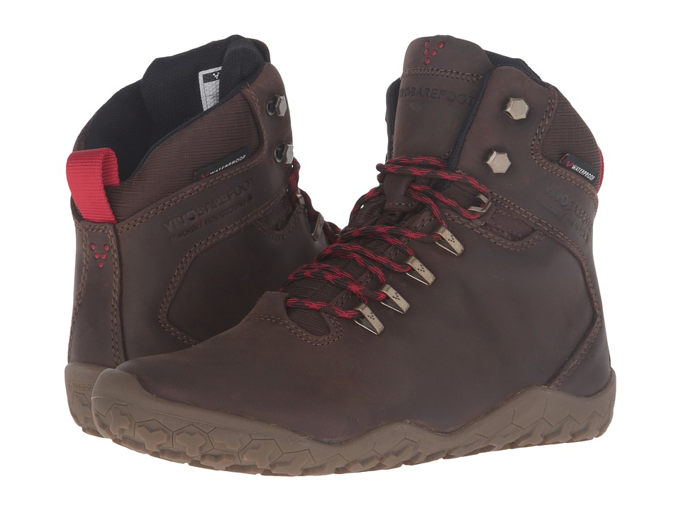 VivoBarefoot Tracker Firm Ground (Dark Brown) Women's Hik...