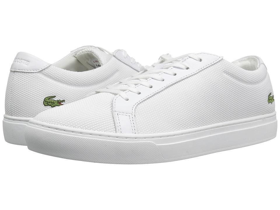 Lacoste - L.12.12 BL 2 (White) Mens Shoes