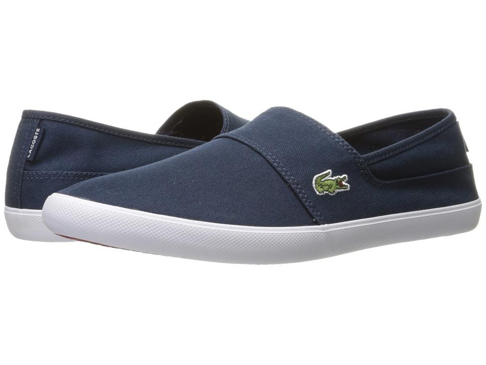 Lacoste - Marice BL 2 (Dark Blue/Dark Blue) Mens Shoes