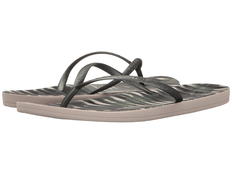 Reef Escape Lux Print (Black Shibori) Sandals