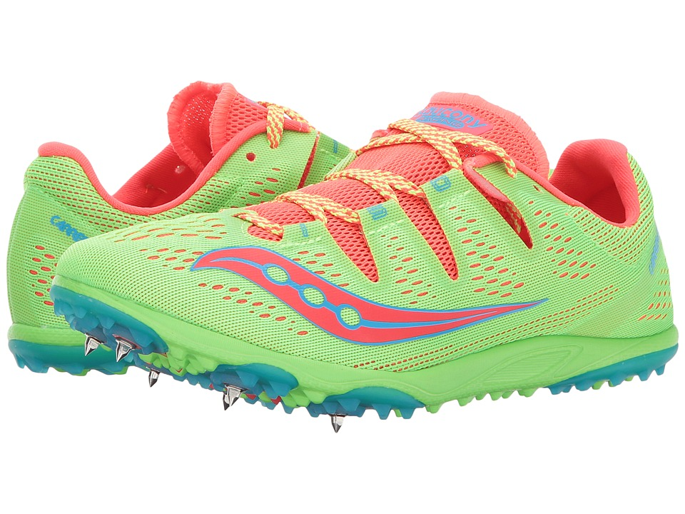 Saucony Carrera XC3 (Slime/Vizi Red) Women