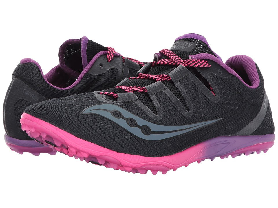Saucony Carrera XC3 Flat (Black) Women