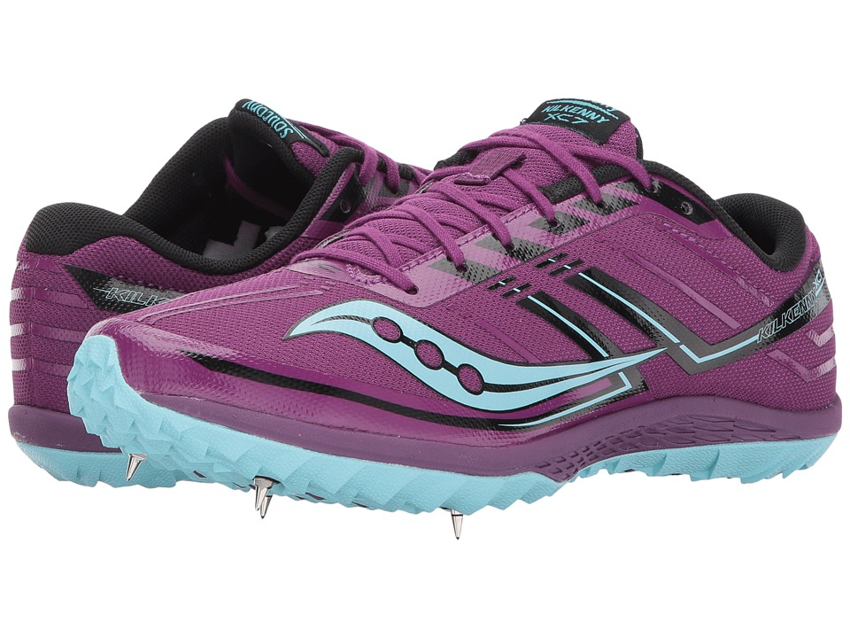 Saucony Kilkenny XC7 (Purple/Blue) Women