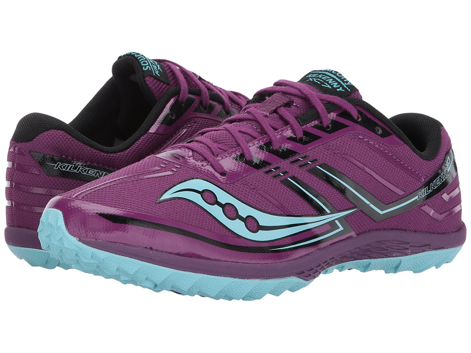 Saucony Kilkenny XC7 Flat (Purple/Blue) Women's Running S...
