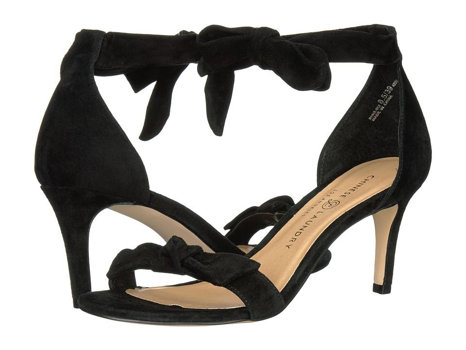 Chinese Laundry - Rhonda (Black Kid Suede) High Heels