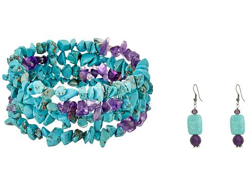 Kender West BR-Tqpr - Turquoise/Purple