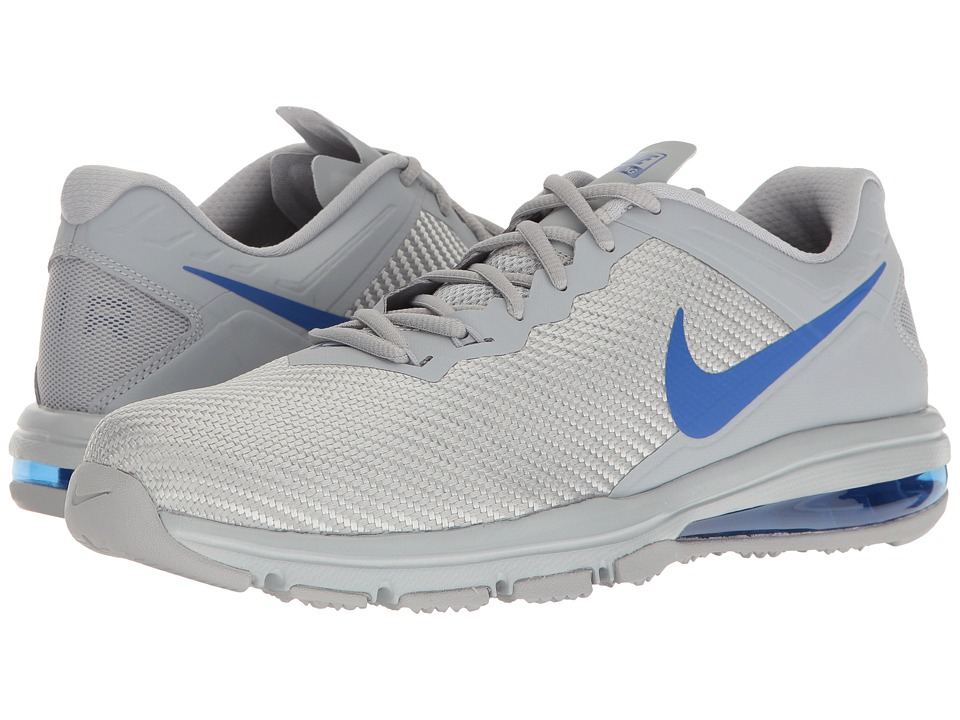 Nike Air Max Full Ride TR (Wolf Grey/Racer Blue) Men's Cr...