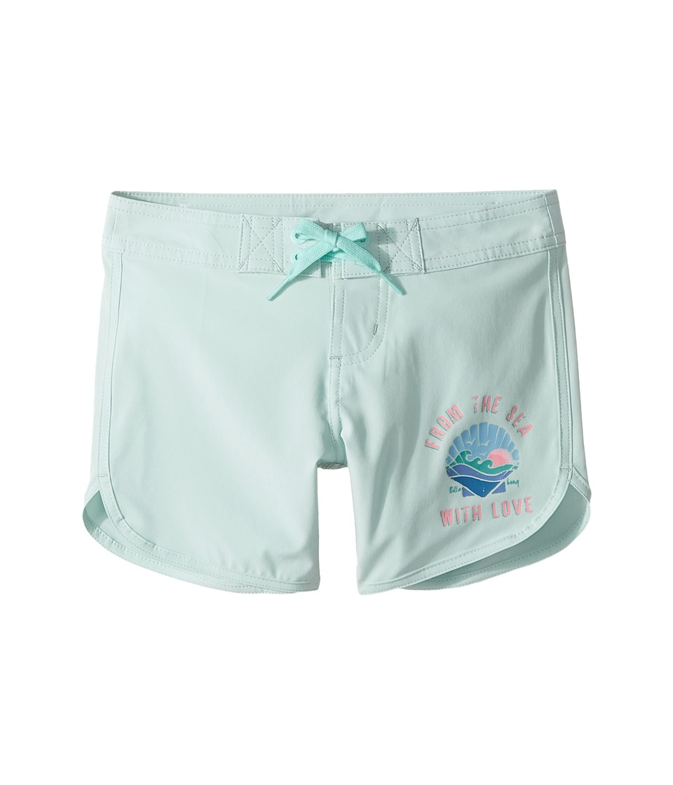 Billabong Kids Sol Searcher Boardshorts (Little Kids/Big Kids) (Beach Glass) Girl
