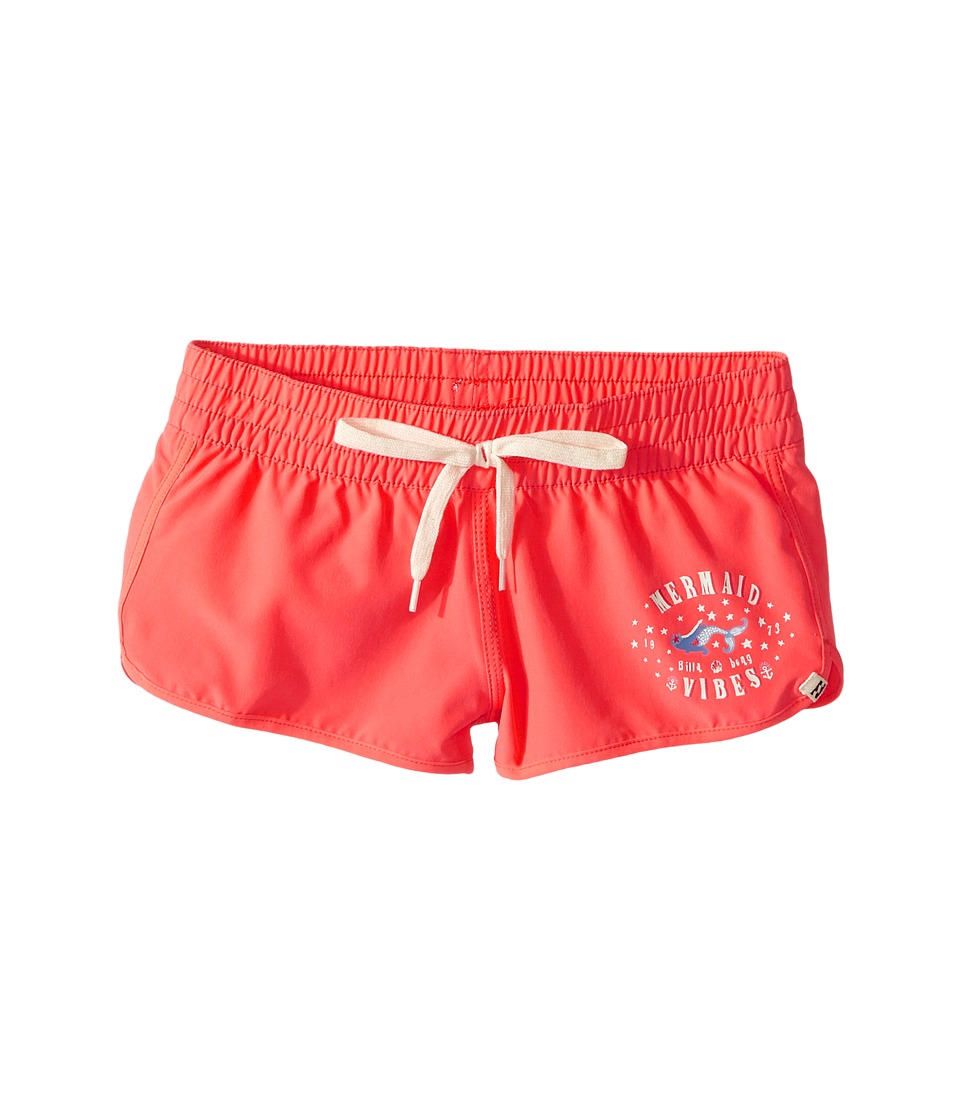 Billabong Kids Sol Searcher Volley Shorts (Little Kids/Big Kids) (Tropical Punch) Girl